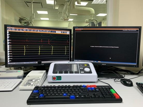 Електрофізіологічна система Abbott Claris WorkMate у центрі Аритмій лікарні Феофанія